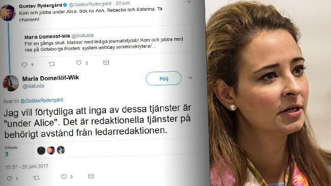 Domellöf Wik anklagas för vuxenmobbing mot Teodorescu. Foto: Nyheter Idag