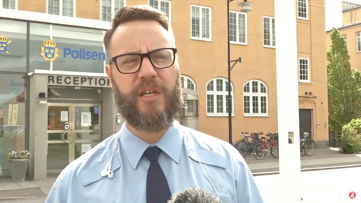 Fredrik Kliman. Foto: TV4/Youtube