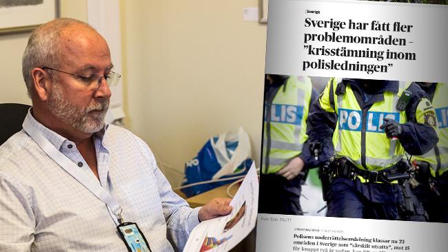 """""""Storm i vattenglas"""", säger Appelgren om reaktionerna på DN-artikeln. Foto: Nyheter Idag"""