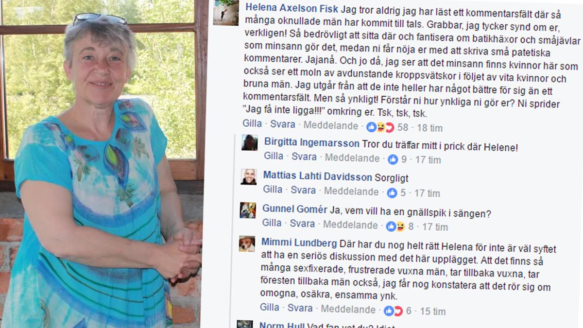 Helena Axelson-Fisk. Foto: Glava glasbruk/Skärmdump