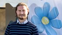 Johan Tireland på politikerveckan i Järva. Foto: Nyheter Idag
