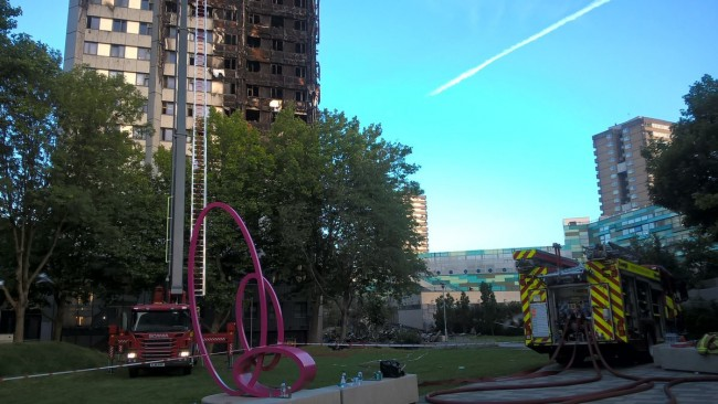 Foto: Brandkåren i London