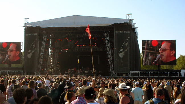 Blue Öyster Cult på Sweden Rock. Bild:  Wikimedia Commons