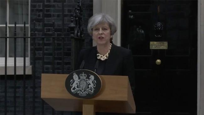 Saker måste förändras, säger Theresa May. Foto: Twitter