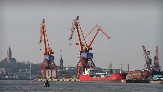 """Hamnarbetarförbundet om andra företag i hamnen: """"Funkar hur bra som helst"""""""