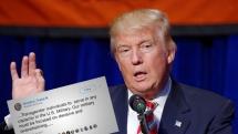 Trump förbjuder transexuella att tjänstgöra i USA:s miltär