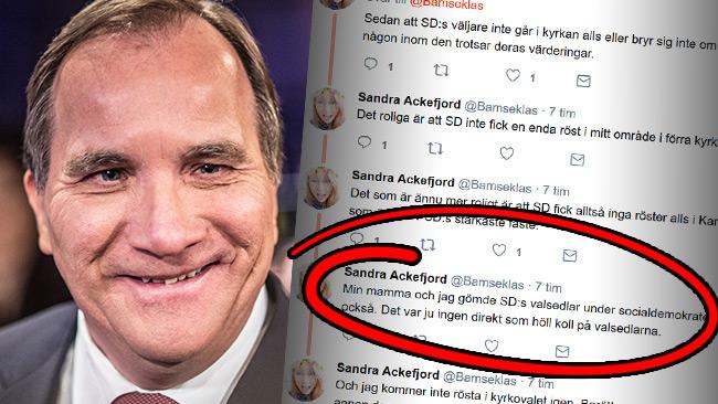 Löfvens partikamrat berättar om valfusket. Foto: Nyheter Idag