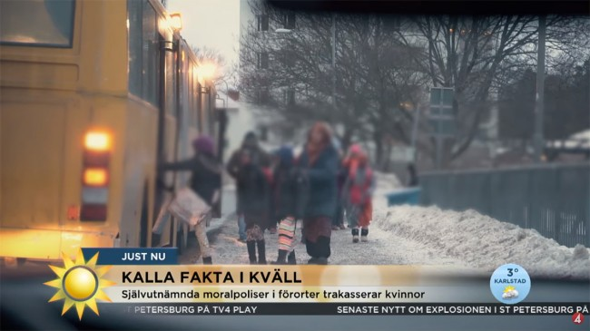 Foto: Youtube/TV4