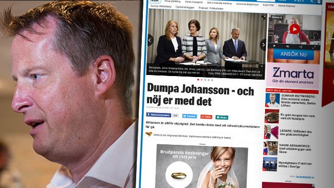 Expressen vill rädda socialdemokraten – trots skandalen.