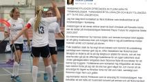Innebandyflickor uppmanades ta på långbyxor för att blidka muslimer vid läger i Nyköping