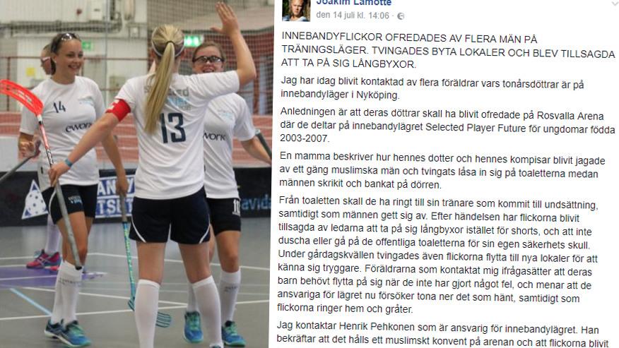 Foto: Innebandyakademin/Skärmdump