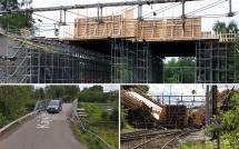 Bron i Ludvika rasade under gjutningsarbete