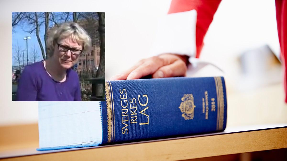 Katarina Rikte. Foto: Youtube/Sydsvenskan/Domstolsverket