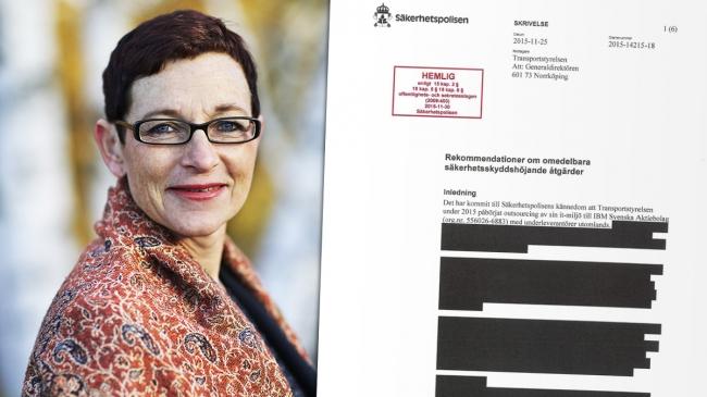 Här är Säpos 250 sidor långa hemliga utredning mot Transportstyrelsen