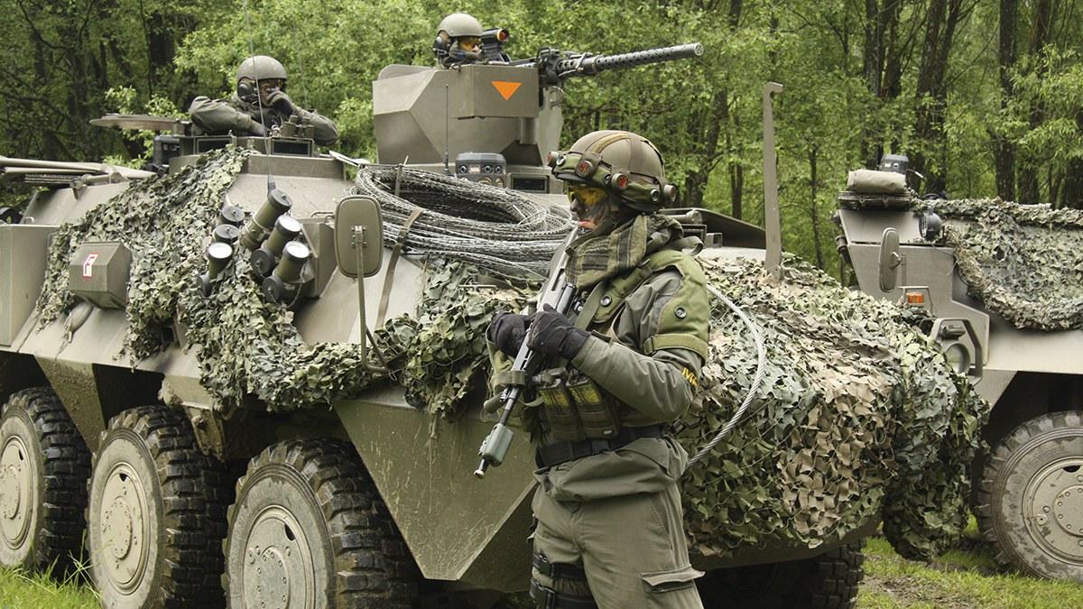 Österrikiska soldater. Foto: Jägerbataillon 17