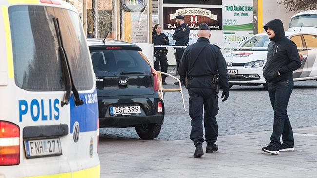 Poliser i tjänst. Genrebild. Foto: Nyheter Idag