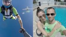 Fallskärmshoppare skickade fasansfull video till sin fru om att han skulle ta sitt liv
