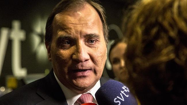 Löfven: SD ett hot mot fria medier