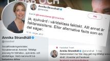 """Strandhäll svänger om sjukvårdskrisen: Från """"faktaresistens"""" till """"fullaste allvar"""""""