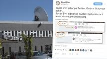 SVT gillar Fi-tweet men ogillar M-politik på Twitter