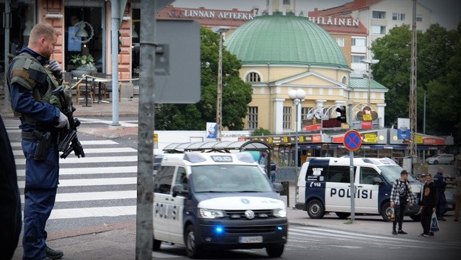 Fem marockaner begärs häktade för terrordådet i Åbo