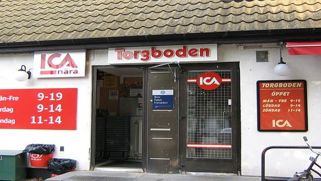 Bilden föreställer en annan ICA-butik Foto: Wikimedia commons
