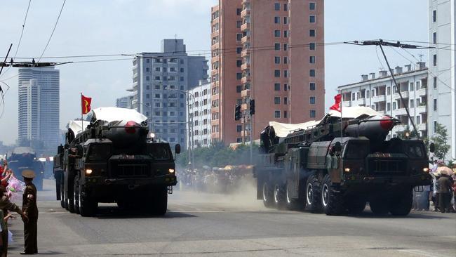 Ballistiska missiler i Nordkorea Foto: Flickr