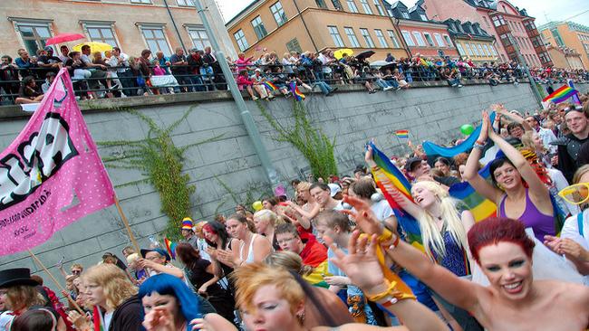 Stockholm Pride. Foto: Flickr