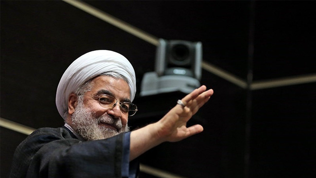 Irans president Hassan Rouhani. Foto: Wikimeda commons