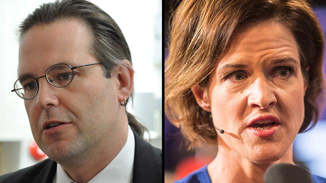 Anders Borg (t.v) och Anna Kinberg Batra (t.h). Foto: Wikimedia Commons samt Nyheter Idag