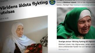 Sverige utvisar 106-åring till Afghanistan