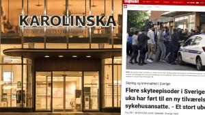 Norsk tidning publicerade bild från stormningen av Karolinska
