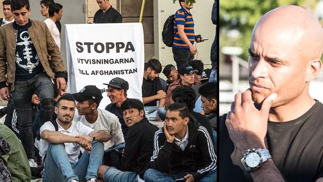 Därför är det moraliskt korrekt att inte ge sittstrejkande afghaner asyl