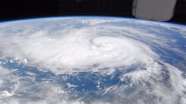 Orkanen Harvey fotad från ISS, Foto; Nasa/Randy Bresnik