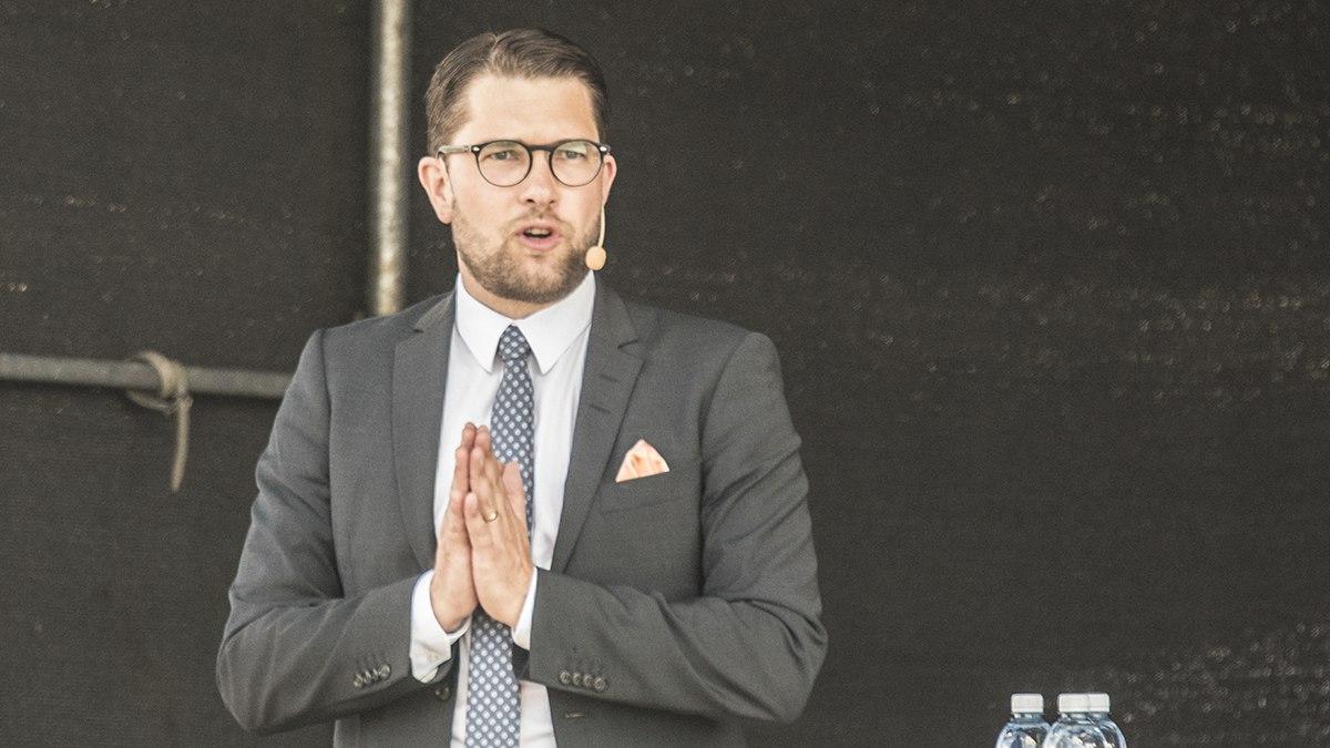 Jimmie Åkesson. Foto: Nyheter Idag
