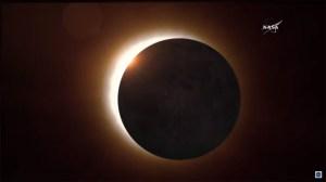 Nasa sänder live från solförmörkelsen