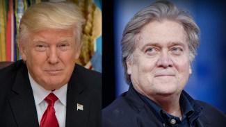 Bannon och Trump går skilda vägar