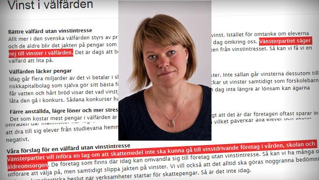Foto: Vansterpartiet.se & Wikipedia.