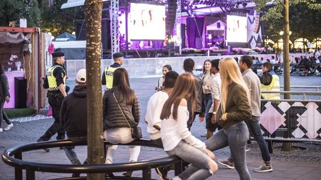 "Polisen: ""Avsevärt färre"" sexbrott på årets We are Sthlm – ungdomar undviker festivalen"