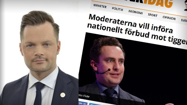 Foto: Riksdagen & Faksimil Nyheter Idag