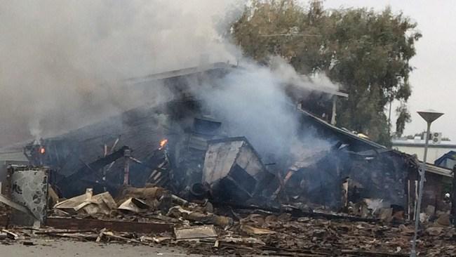 Moskébrand i Örebro