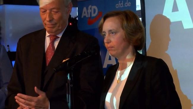 """AfD: """"Vi kommer jaga bort Angela Merkel och ta tillbaka vårt land"""""""
