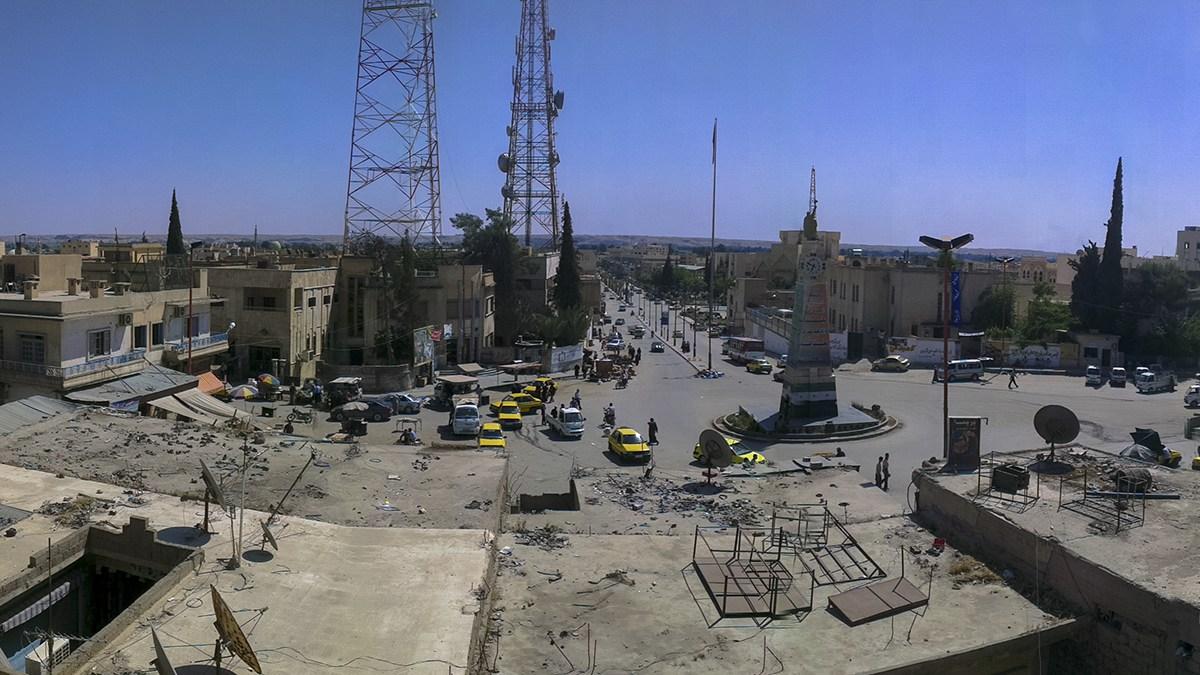 Ar Raqqah kort innan IS maktövertagande. Foto: Beshr Abdulhadi