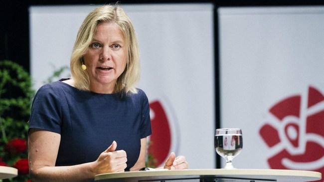 """Magdalena Andersson om SD: """"Ett extremt högerparti med rötterna i nazismen"""""""