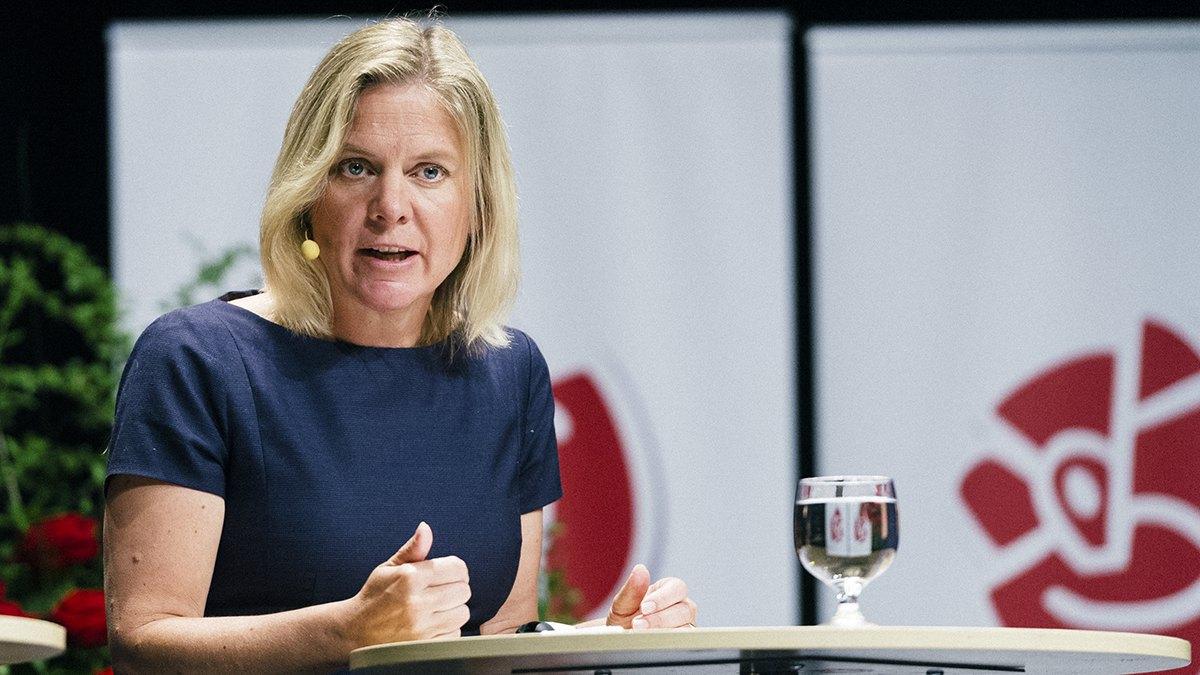 Foto: Anders Löwdin/Socialdemokraterna