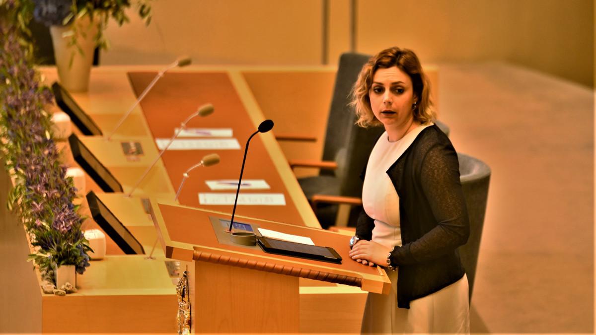 Paula Bieler (SD). Foto: Nyheter Idag