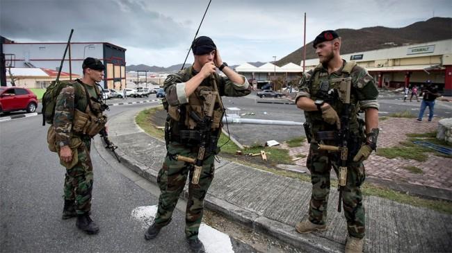 Amerikansk polis ska stoppa plundring