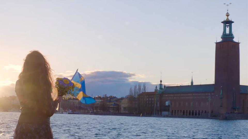 Bild: Ur Sverigedemokraternas kampanjfilm