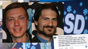 SD Nacka: Vår Facebooksida är under attack från #jagärhär