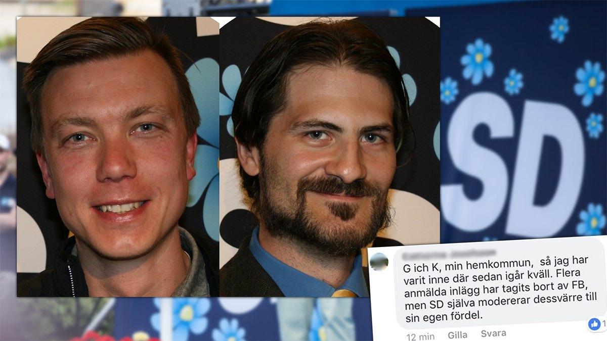 Martin Kroon och David Bergqvist. Foto: SD Nacka/Nyheter Idag